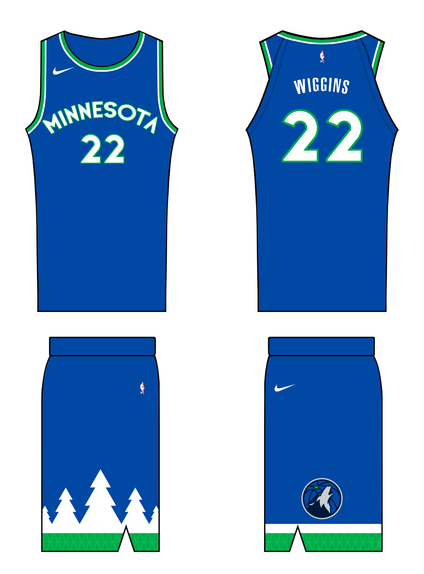 Minnesota Timberwolves Nba Concepts By Honeybadger Concepts