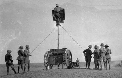 Artillery Observation Limber Pole Ladder