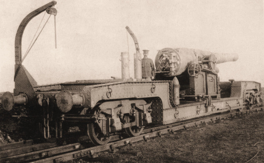 Hartley Railway Gun