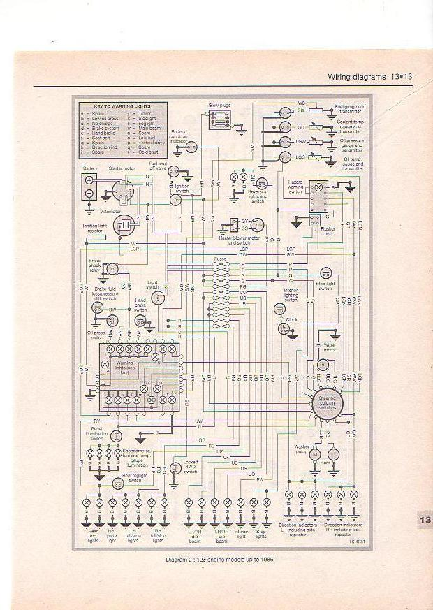 Wanted wiring diagram for 2 5na 90 defender forum lr4x4 the on wiring diagram for land rover defender Land Rover AC Wiring Diagrams wiring diagram for 2003 land rover discovery