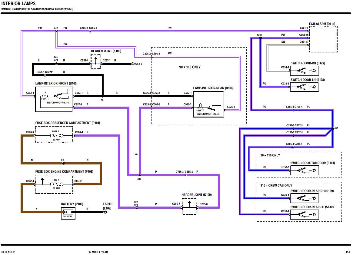 WRG-7045] Rover 200 Immobiliser Wiring Diagram
