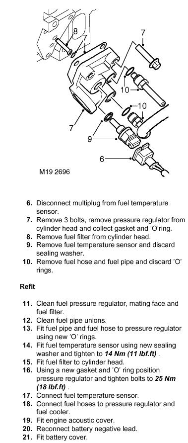 td5 fuel diagram defender forum lr4x4 the land rover forum rh forums lr4x4 com land rover freelander td4 fuel system diagram