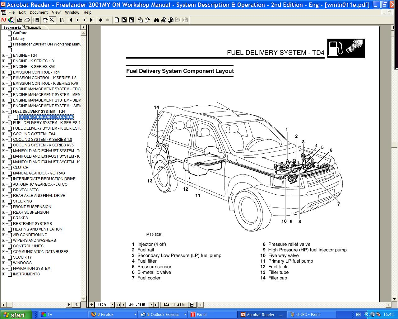 Location Of Td4 Fuel Filter Freelander Forum Lr4x4 The Land 2 Filters Post 5 1236876153 Thumb
