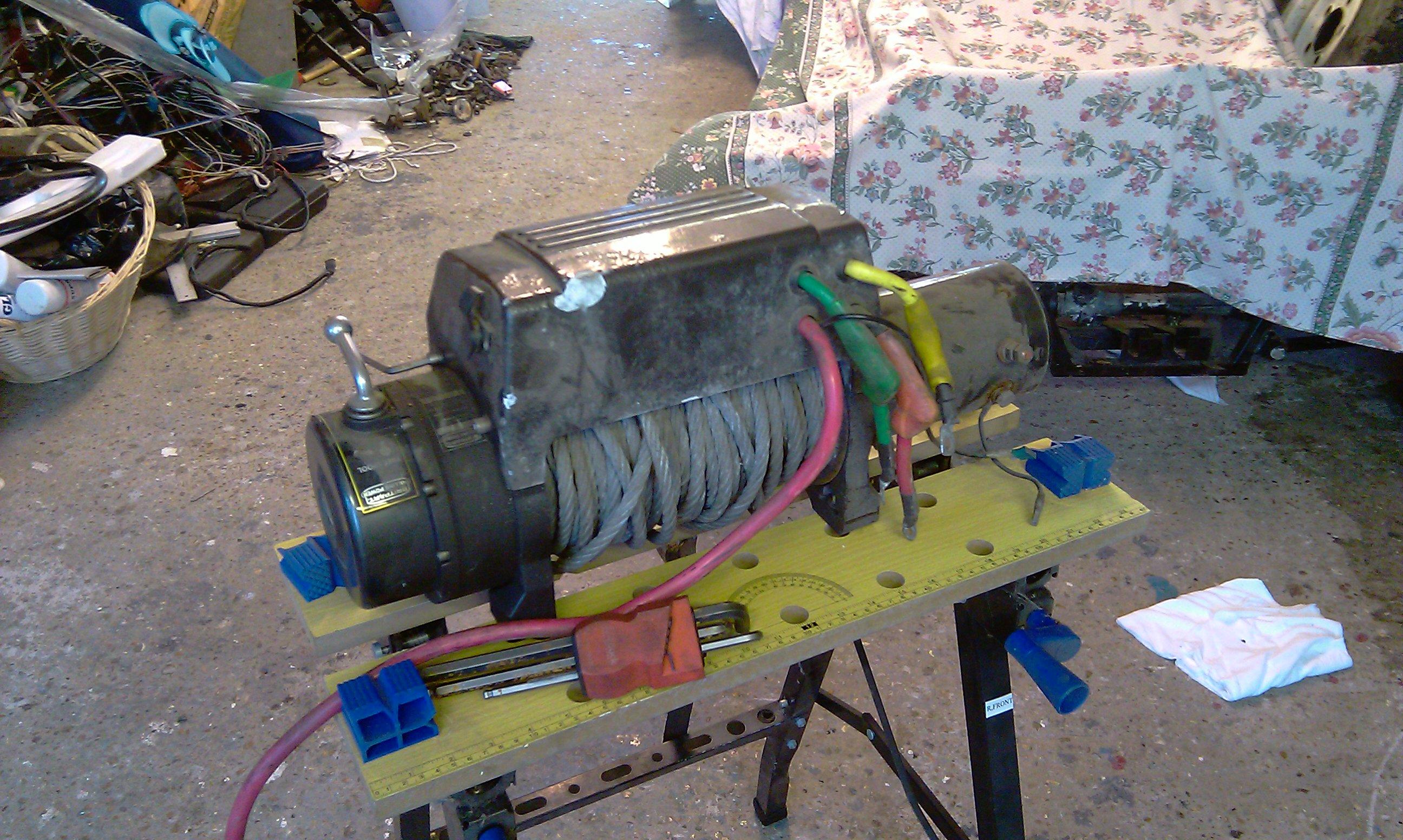 Britpart Winch Wiring Diagram Bookmark About 12v Switch 9500i Defender Forum Lr4x4 The Land Rover Rh Forums Com 4 Wheeler 12 Volt