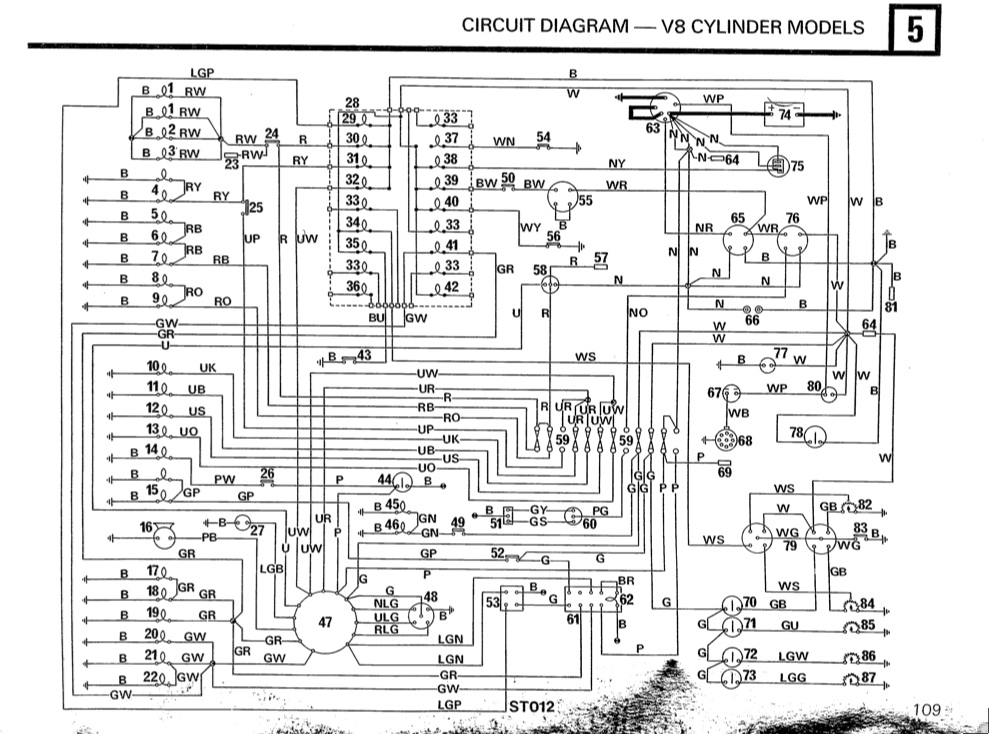 1999 land rover discovery wiring diagram 90 wiring loom - defender forum - lr4x4 - the land rover forum