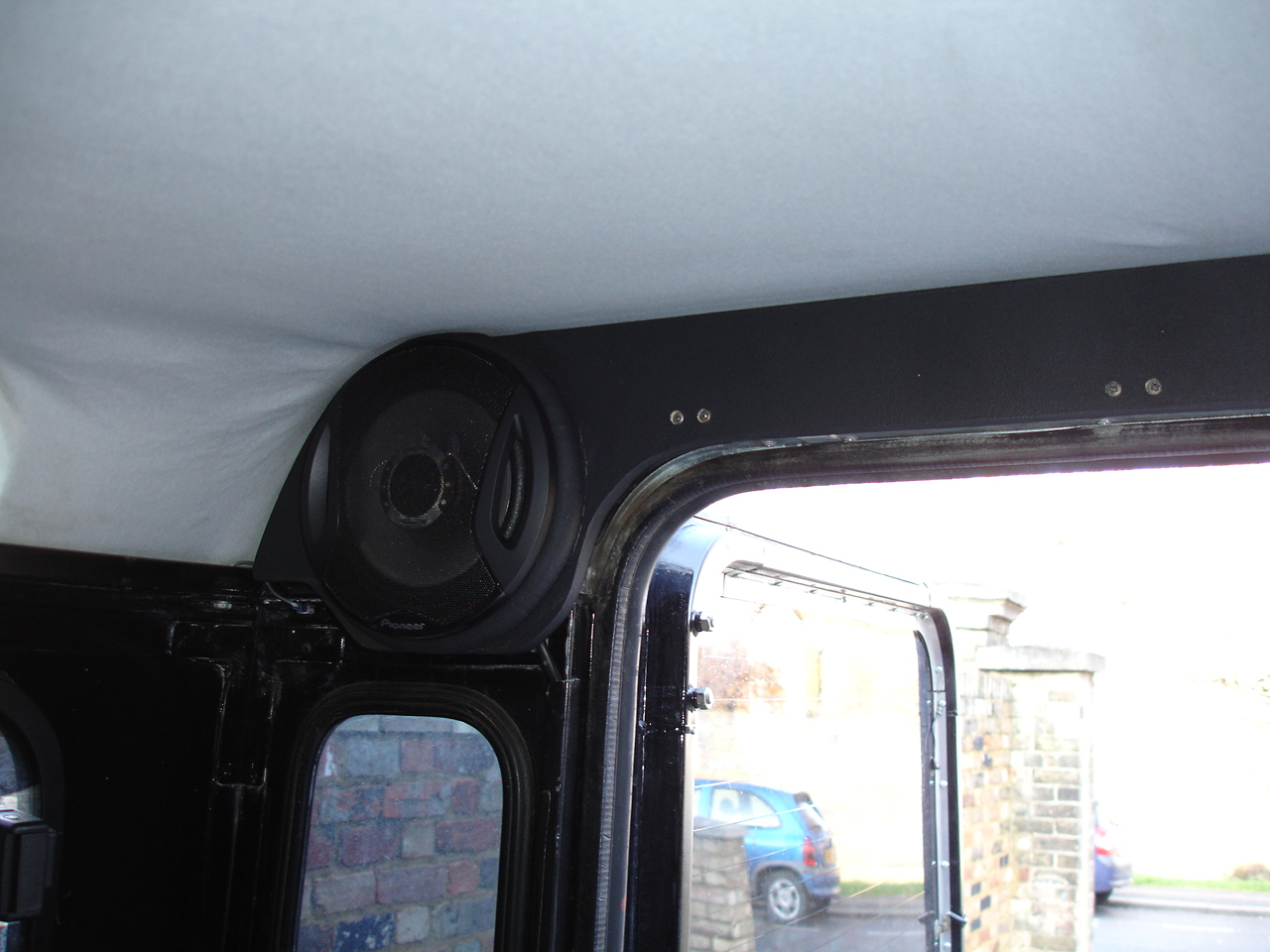 Defender Rear Speaker Housing Tools And Fabrication