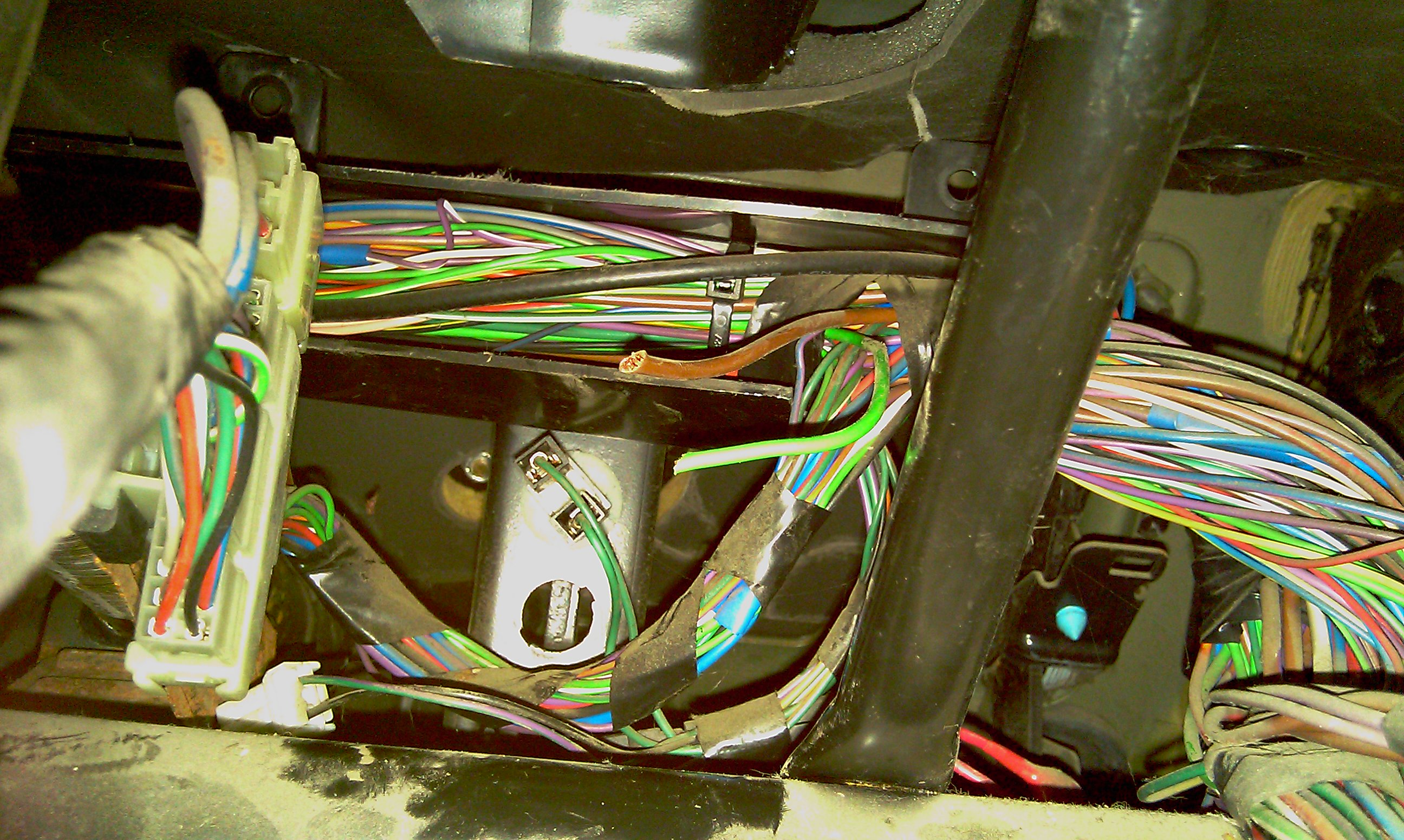 Help With Ignition Switch Wiring On A 300tdi - Discovery Forum - Lr4x4