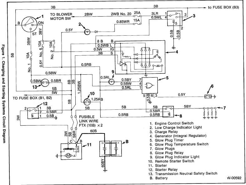 Isuzu Alternator Wiring - Defender Forum - Lr4x4