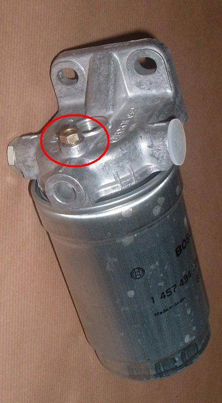 Air in diesel fuel filter - Defender Forum - LR4x4 - The