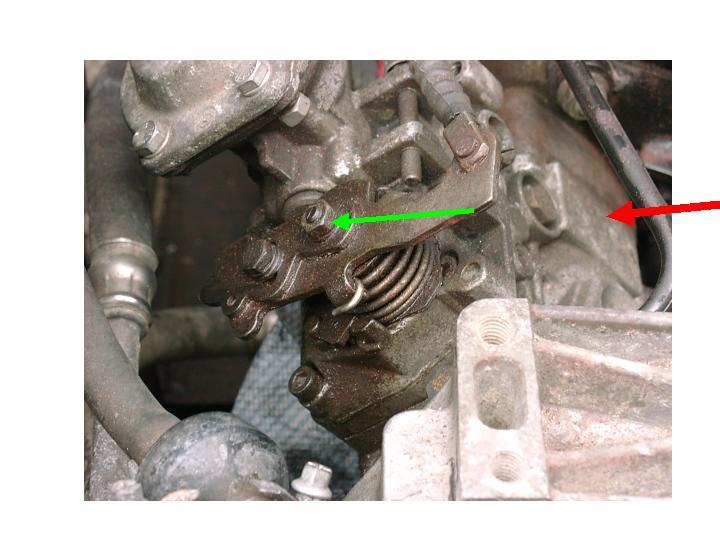 How to replace the throttle spindle seal on a Tdi Injection pump