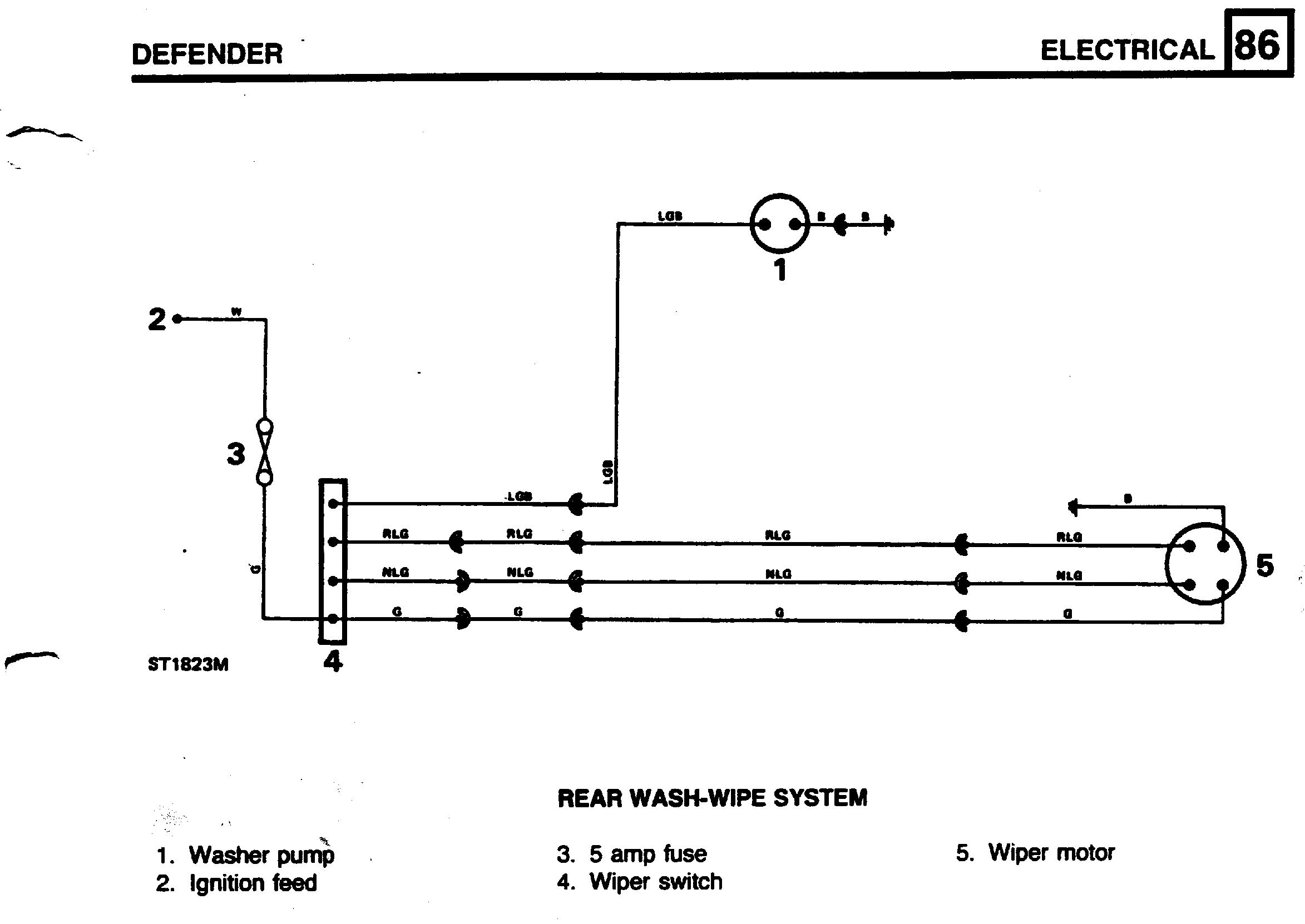Land Rover Series 3 Wiper Motor Wiring Diagram Worksheet And 2001 Discovery Engine Rear Defender Forum Lr4x4 The Rh Forums Com Diagrams