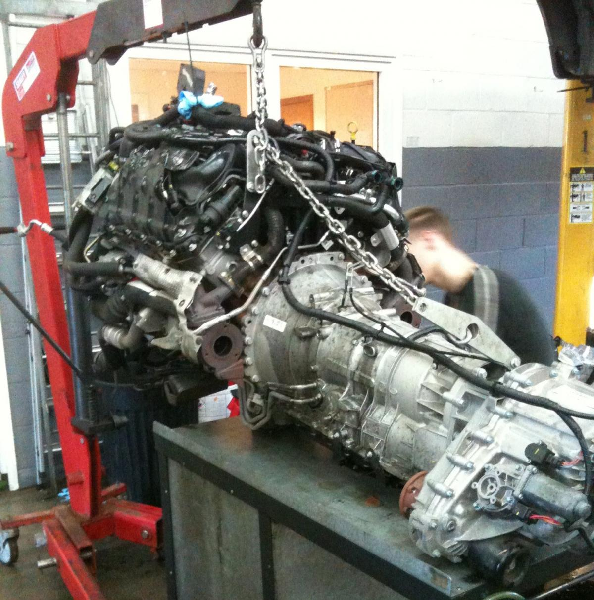 range rover sport engine swap pics international forum lr4x4