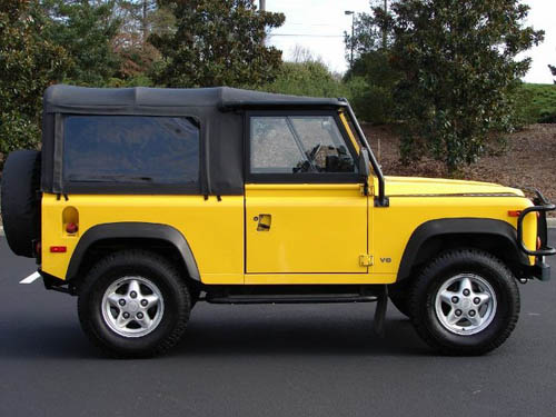 Yellow Defenders? - Defender Forum - LR4x4 - The Land Rover Forum