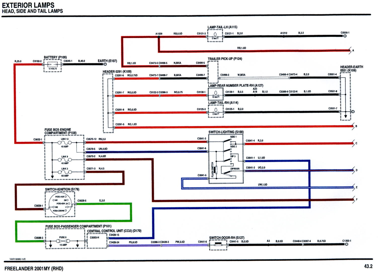Amp Land Rover Wiring Diagram