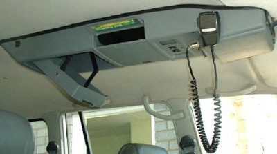 LAND ROVER DEFENDER ROOF CONSOLE NOT TRUCK CAB