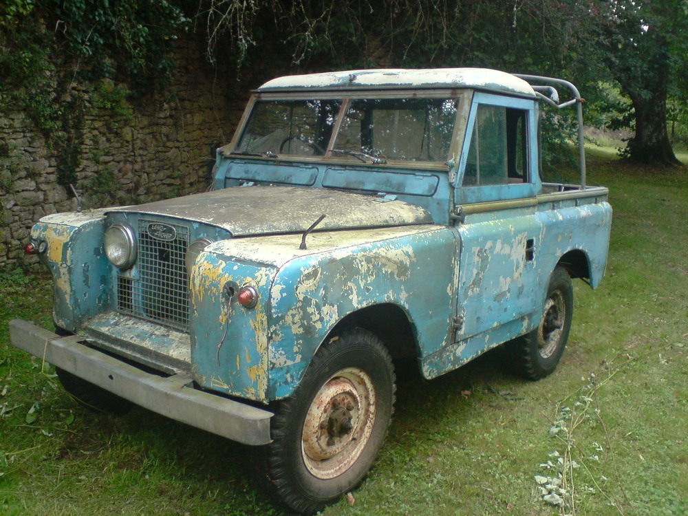 1961 Land Rover Series 2 Restoration - Tools and Fabrication - LR4x4
