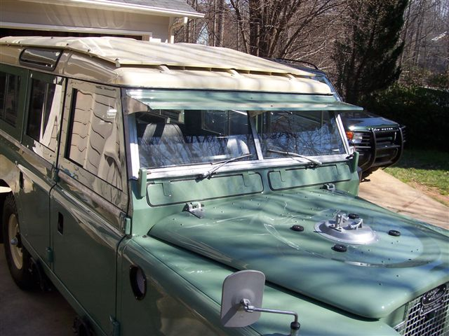 [1994 Land Rover Defender 90 Sun Visor Repair] - Land ...