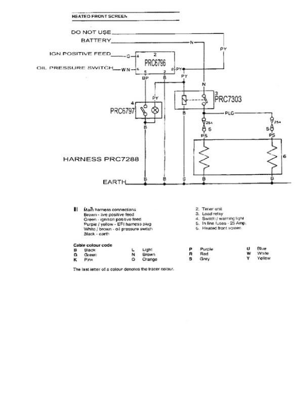 Heated Windscreen - Defender Forum - Lr4x4
