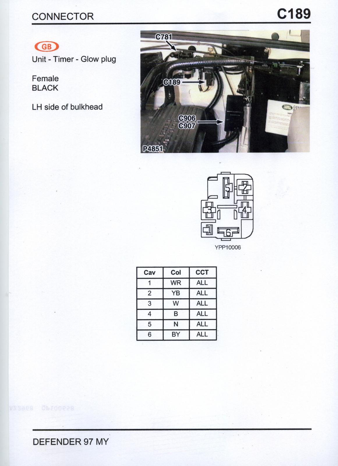 Glow Plug - Defender Forum  1983 - 2016  - Lr4x4