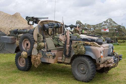 Gun mount - Military Forum - LR4x4 - The Land Rover Forum