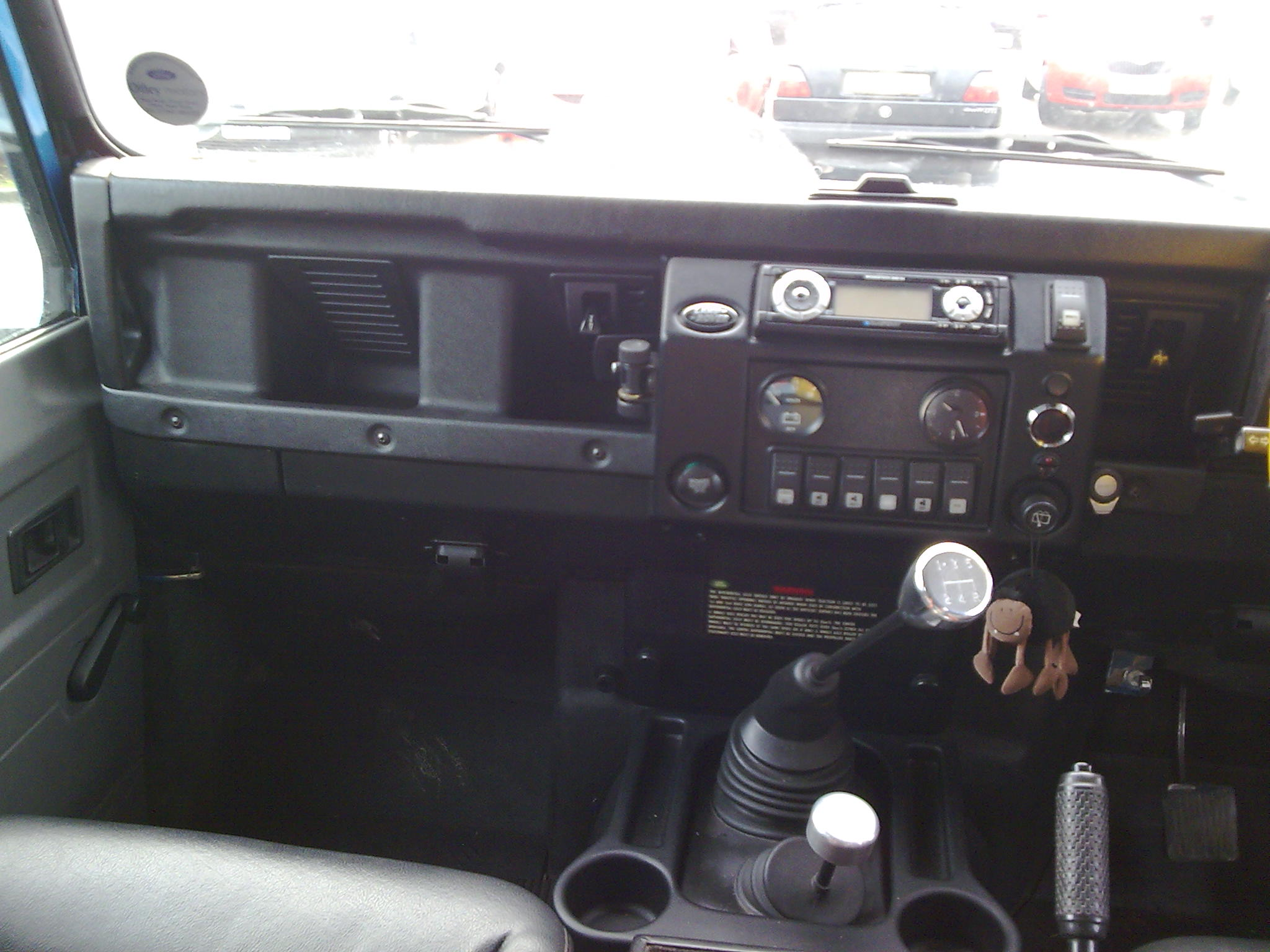 land dashboard vehicles overland custom scotland rover defender landrover