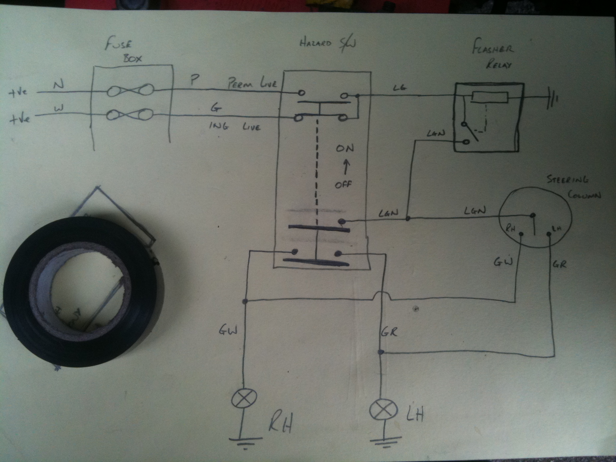 Wiring Up Indicator Relay