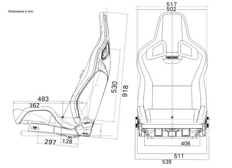 Recaro Cross Sportster Seats