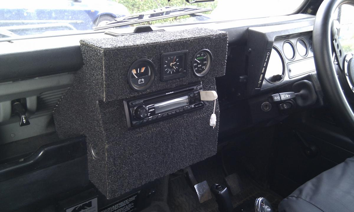 Homemade Defender Dash Forum Lr4x4 The Land Rover Range Fuse Box Of An 89