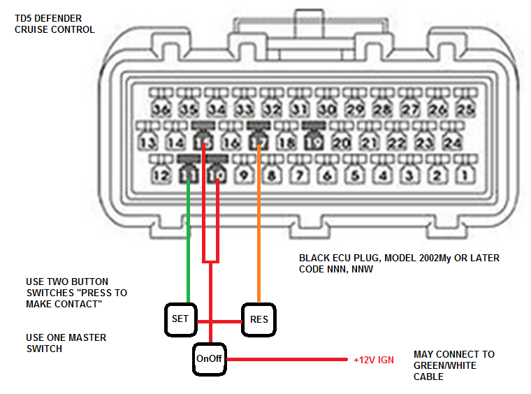 cruise control - discovery forum - lr4x4 - the land rover forum, Wiring diagram