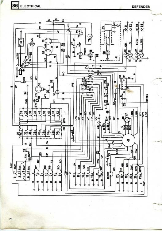 Land Rover 90 V8 3 5  Carb  Wiring Diagram Needed  - Defender Forum  1983 - 2016  - Lr4x4