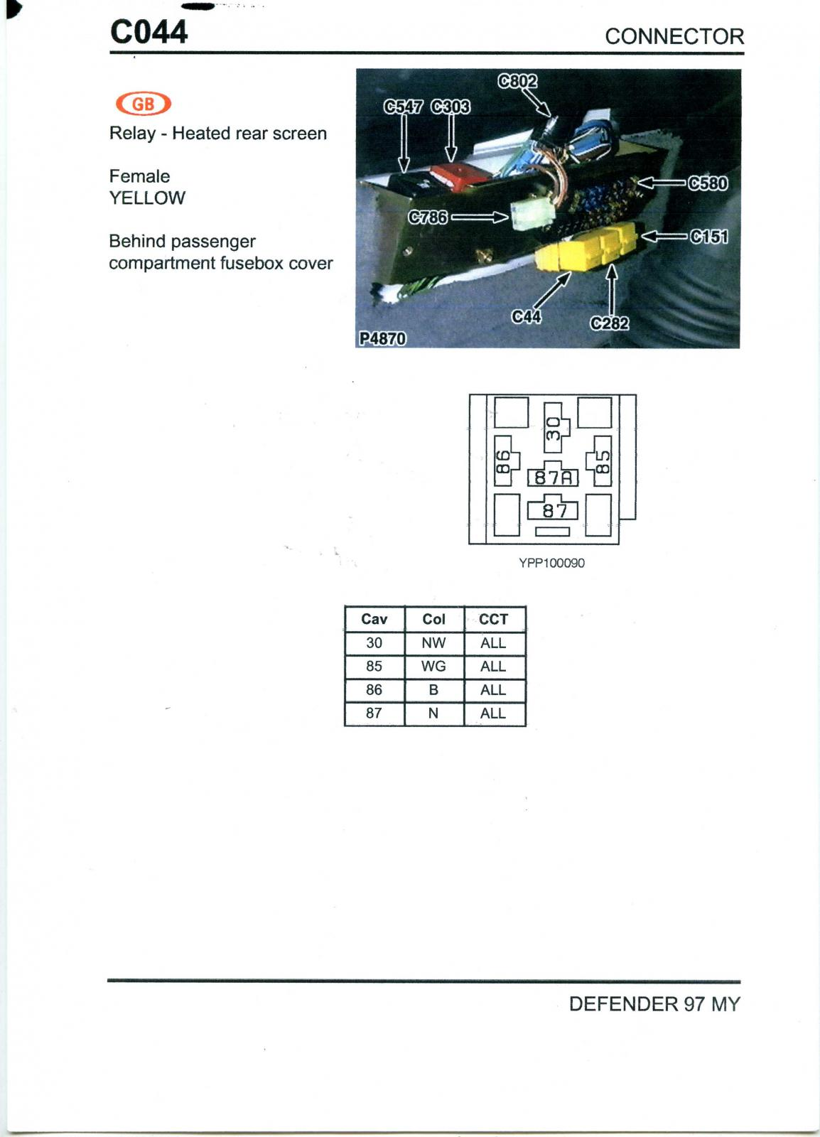 Land Rover Defender 300tdi Fuse Box Wiring Library Cover Tdi Engine Post 20 0 88999800 1400004938 Thumb