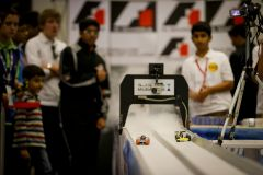 Action on the F1 in Schools Track