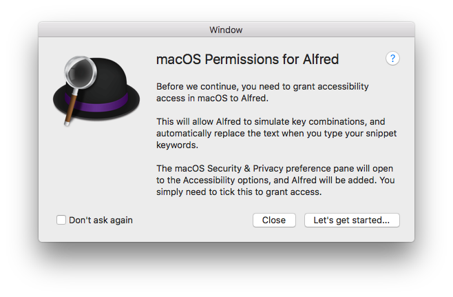 Alfred 3 7 BETA for Mojave Beta 4+ - Closed - Alfred App Community Forum