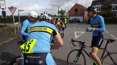 pep talk just before 4 up TTT 2015.