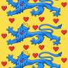2000px Royal Banner Of Denmark (14th Century).svg