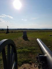 Union Side Of Picketts Charge