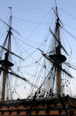 HMS Victory's rigging