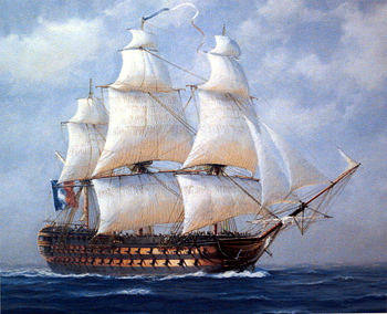French ship Redoutable (1791) Ships of the line Game