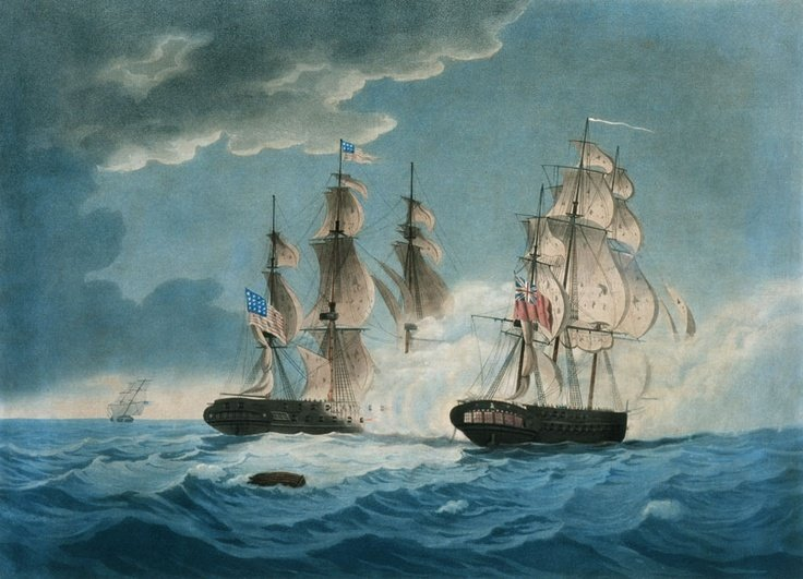 HMS_Endymion_and_USS_President_exchange_