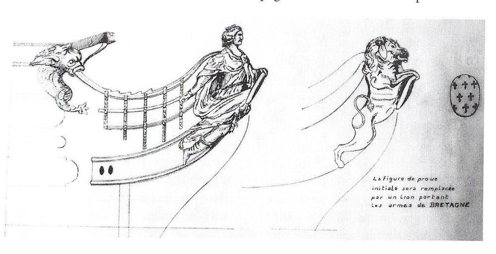 Bretagne, figurehead as designed by Lubet (left) and projected figurehead (1777).jpeg
