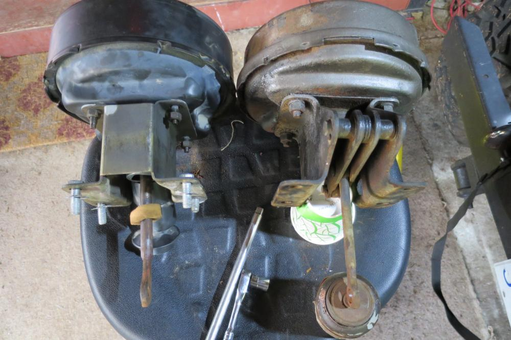 Jeep YJ to CJ Power Brake Booster Swap: Easy? - General