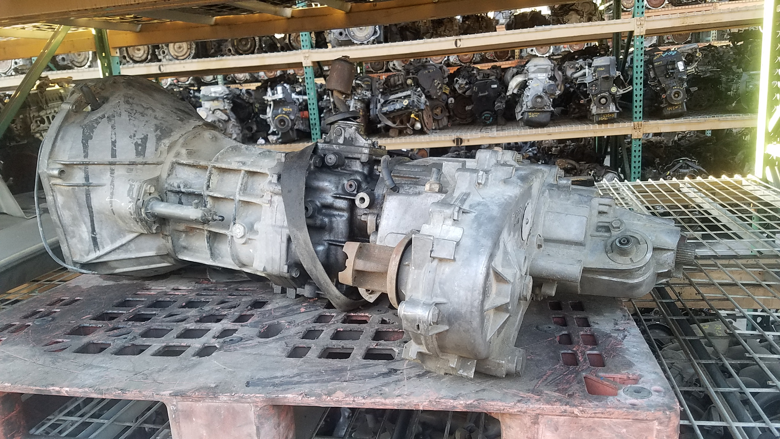 Identifying A 4 0l Jeep Engine  Ax15 Transmission And Np249j Application