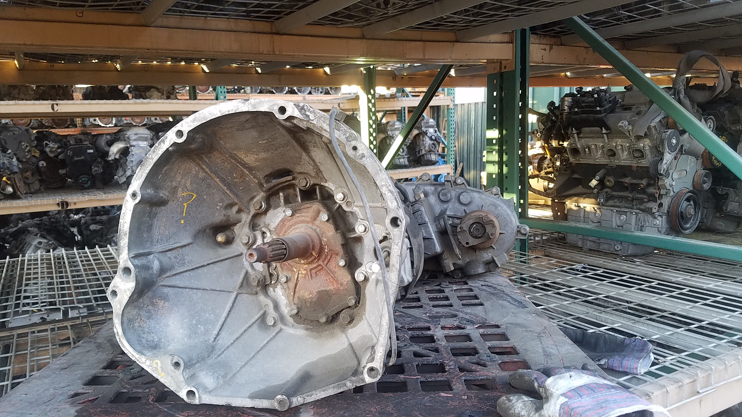Identifying A 40l Jeep Engine Ax15 Transmission And Np249j 4 0l Bellhousing Diagram 20161129 160456