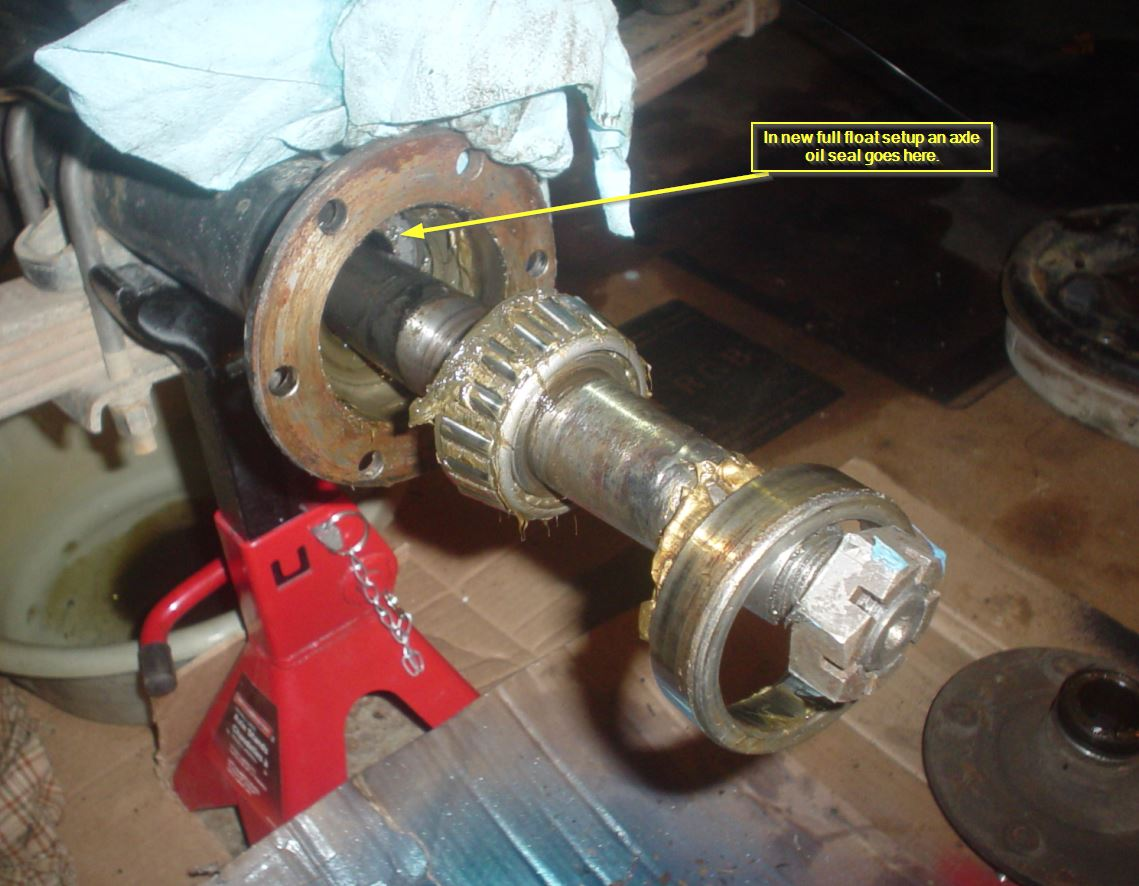 Full Floating Axle >> Full Float Conversion Hub And Spider Failure Vintage
