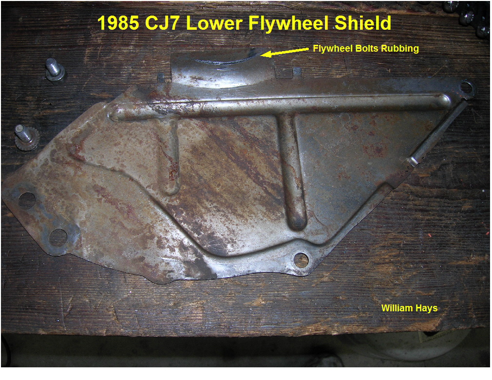 1985 Cj7 Clutch Flywheel And Rear Main Seal Replacement