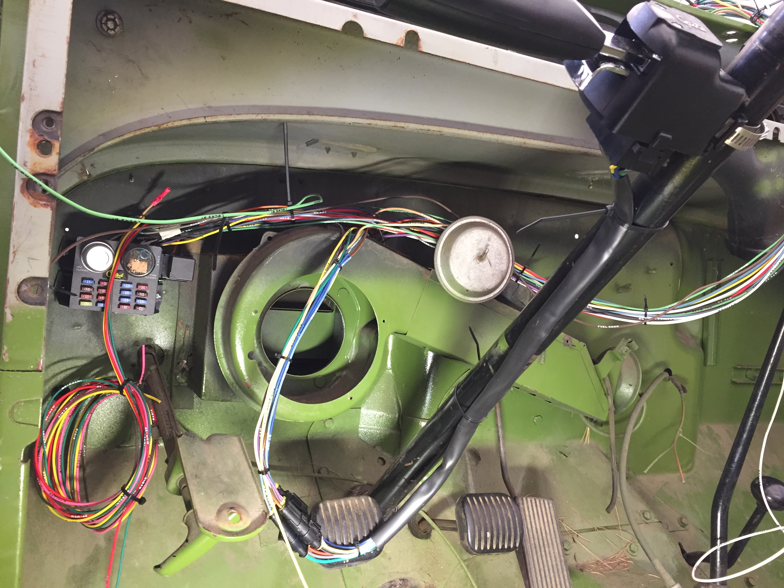 1966 Jeep Cj 5 Upgrades And Future Rebuild Vintage Vehicles Cen Tech Wiring Harness Been Plugging Away At This Its A Slow Process When One Is Gone Through The Week But Im Gaining