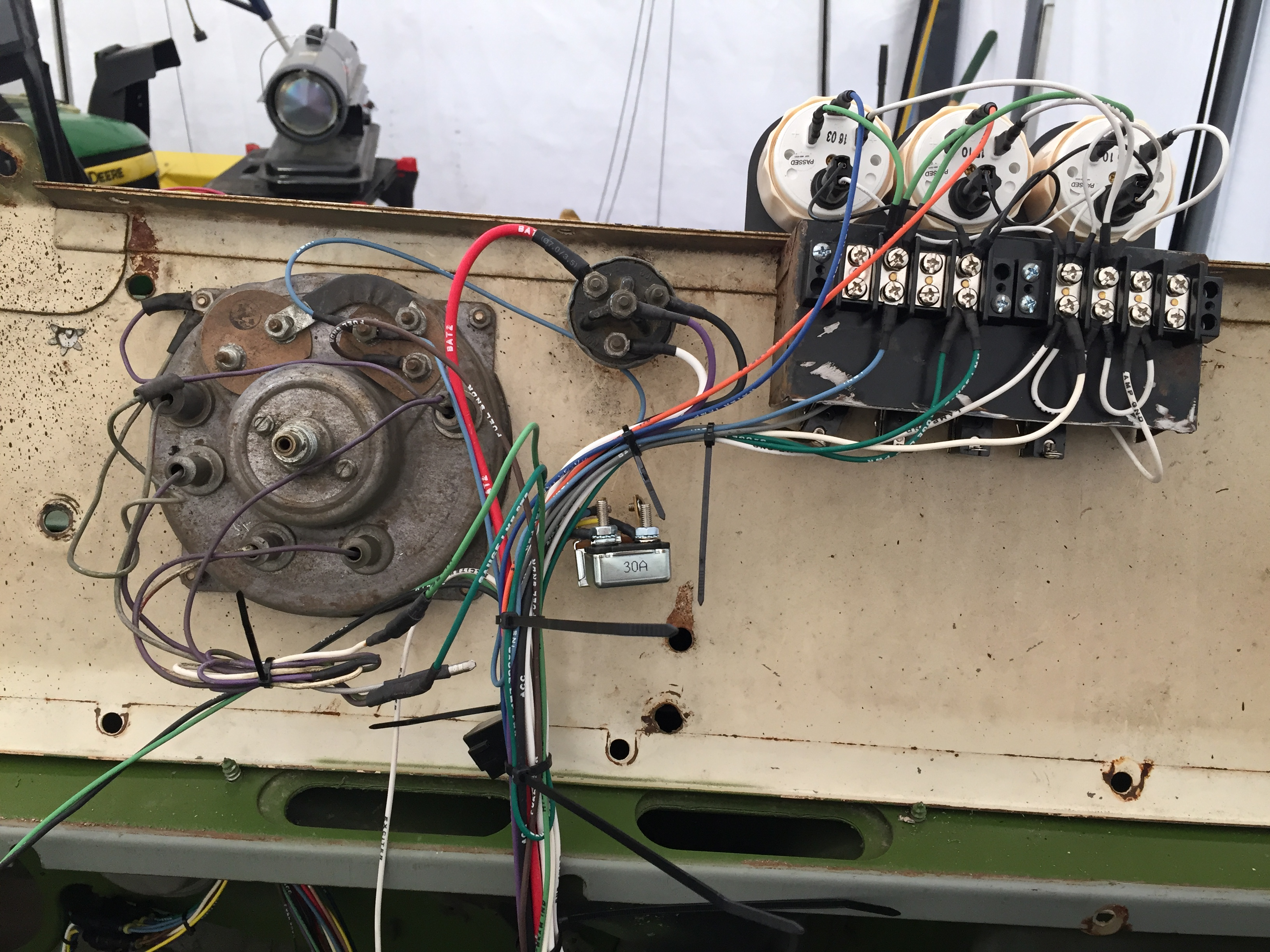 1966 Jeep Cj 5 Upgrades And Future Rebuild Vintage Vehicles Wiring Harness Rebuilders Been Plugging Away At This Its A Slow Process When One Is Gone Through The Week But Im Gaining
