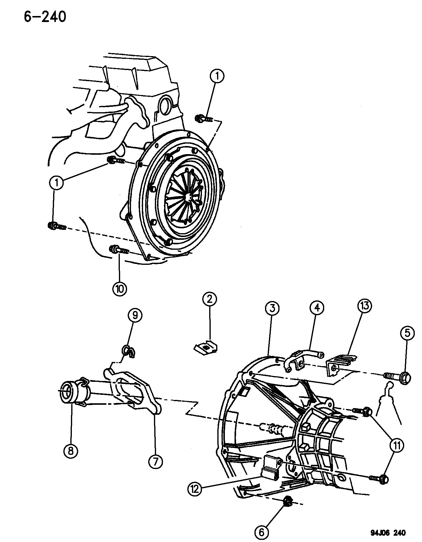 converting an ax5 to external slave cylinder jeep yj wrangler tj 1995 Jeep Wrangler Steering Column Diagram image