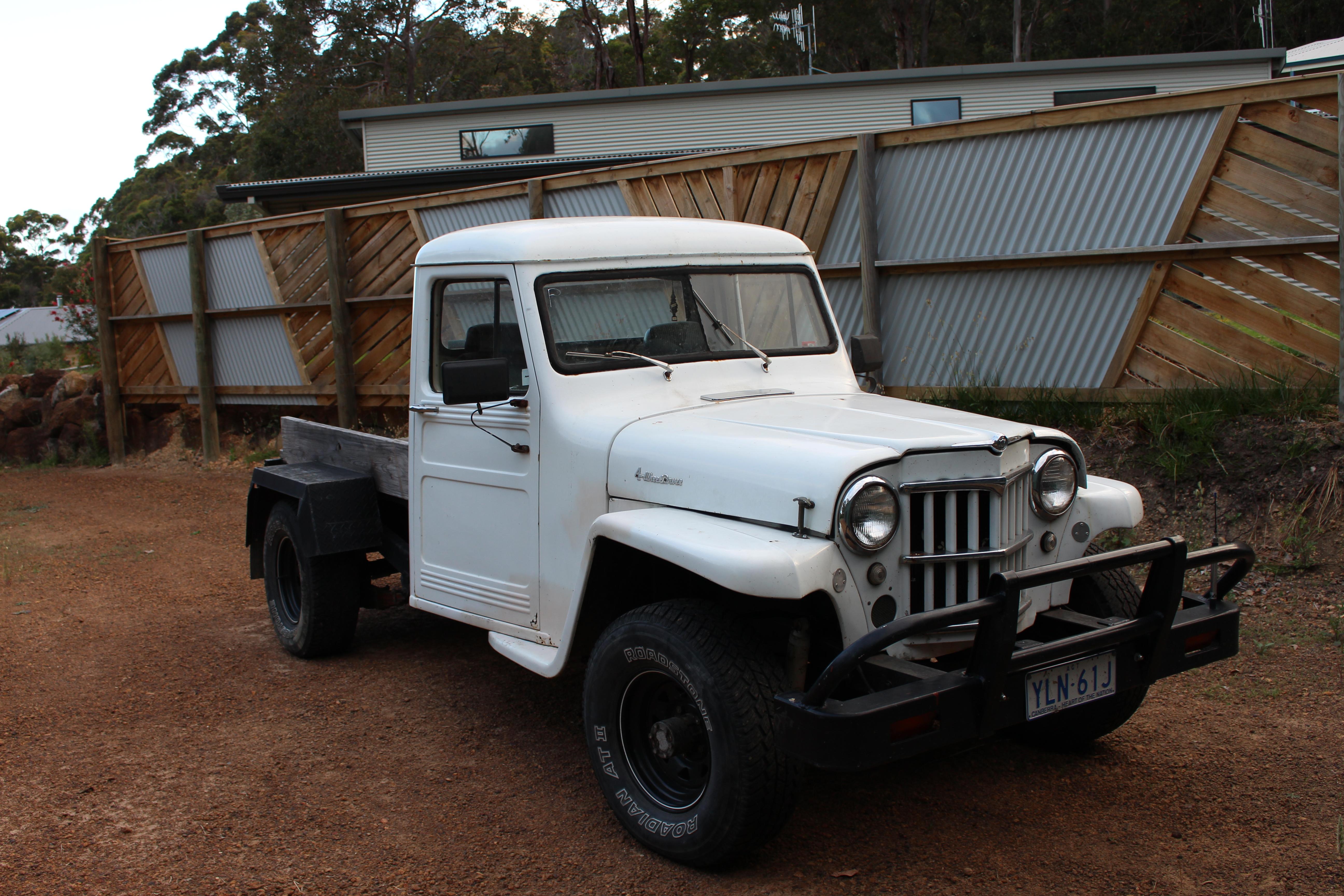 Rare Aussie1966 Willys 4x4 Pickup - Vintage Jeep® Vehicles 1941-71 ...