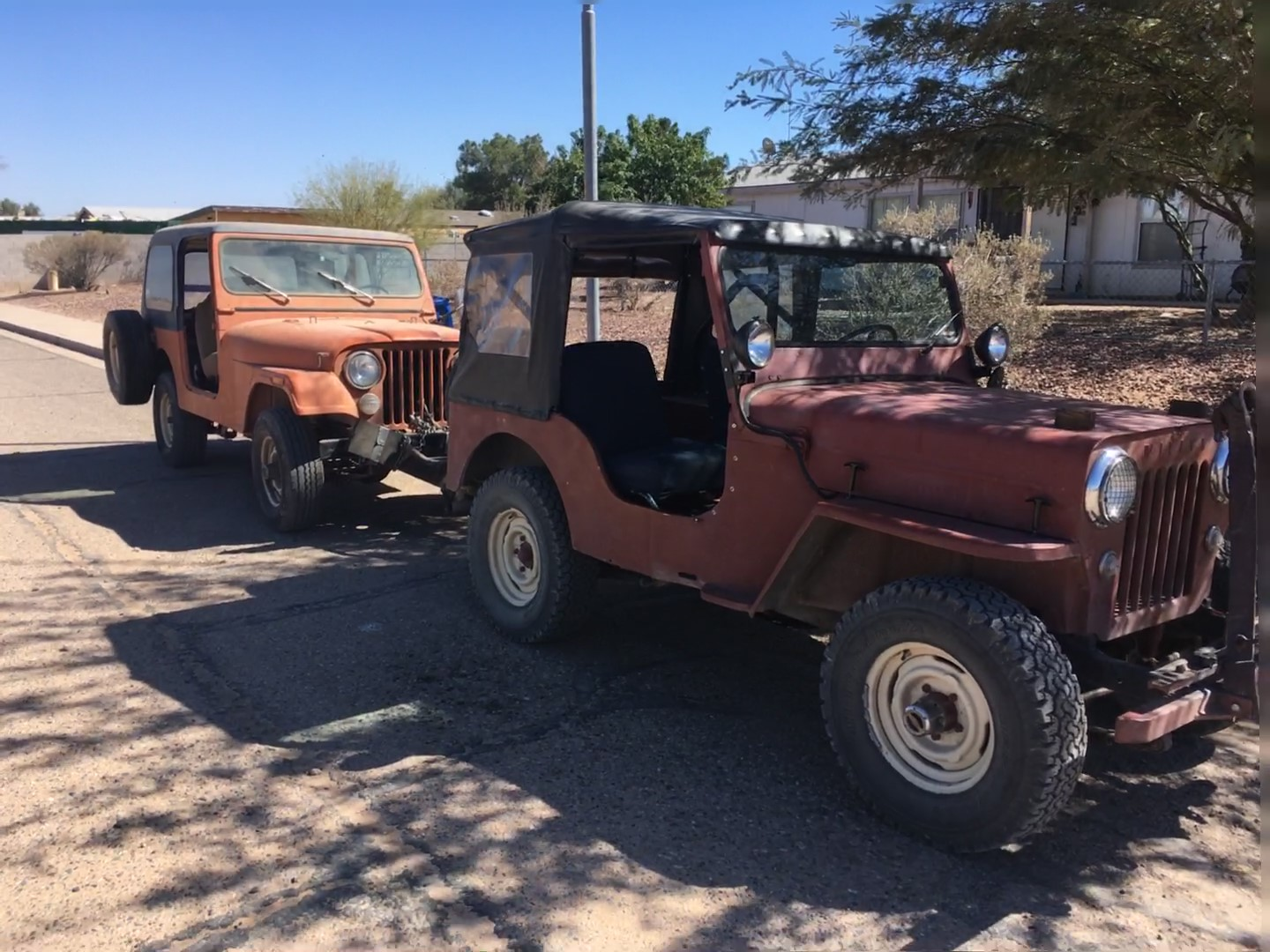 Cj 7 Followed Me Home Now What 1972 86 Amc Jeep And Jeepster 4 0 Stroker Engine For Sale Img 0360